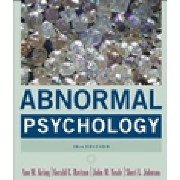 Abnormal Psychology, 10th Edition