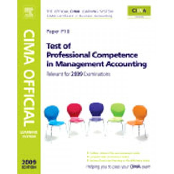 CIMA Official Learning System Test of Professional Competence in Management Accounting  5th Ed