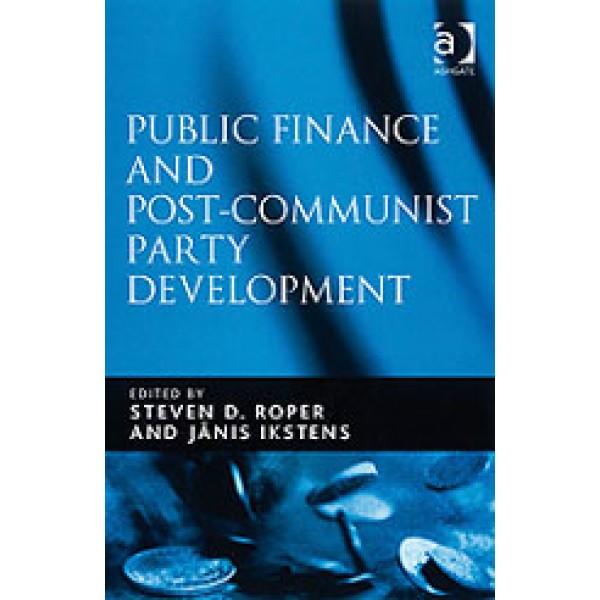Public Finance and Post-Communist Party Development